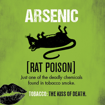 Cigarette smoke contains the same chemical that's in rat poison